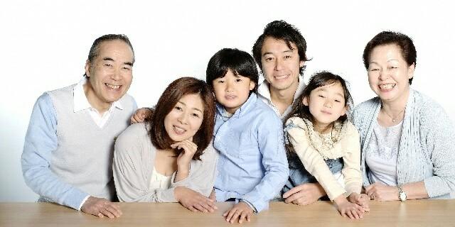 家族と同居