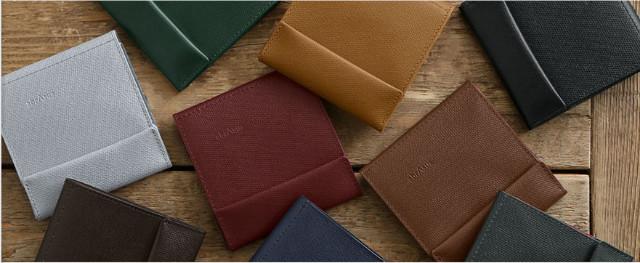 薄い財布のバリエーション
