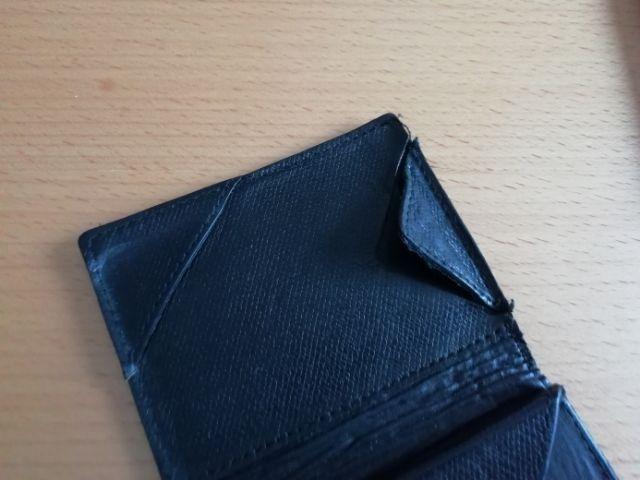 薄い財布の修理箇所