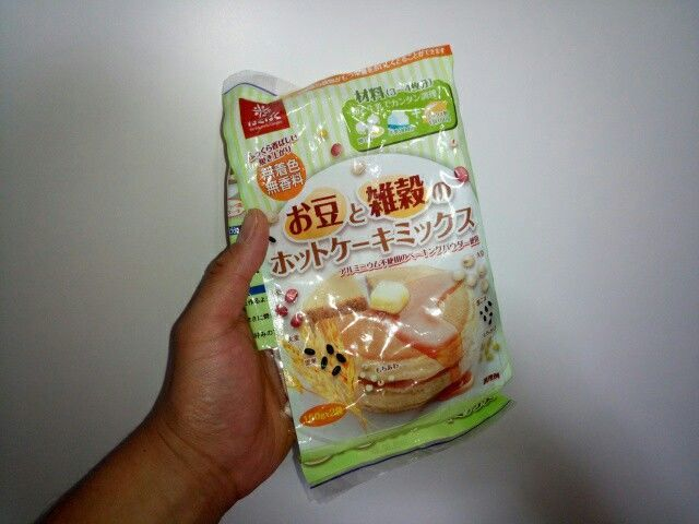 お豆と雑穀のホットケーキミックス