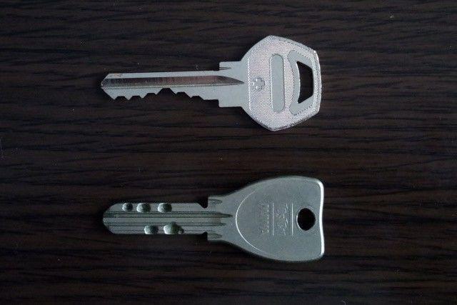 ディンプルキーと普通の鍵