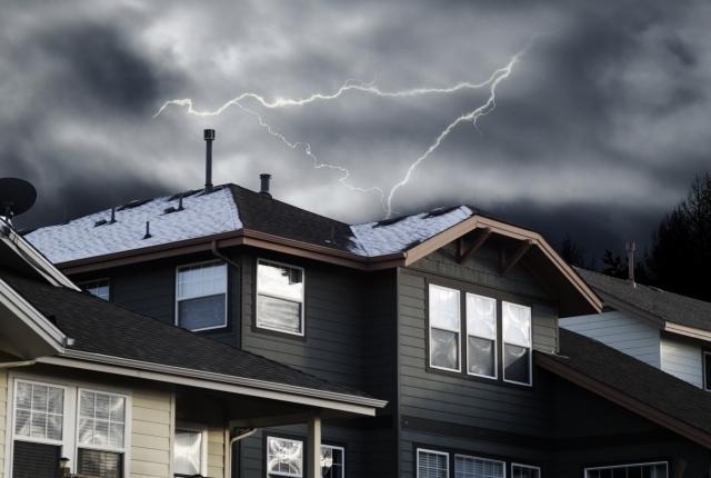 落雷の被害